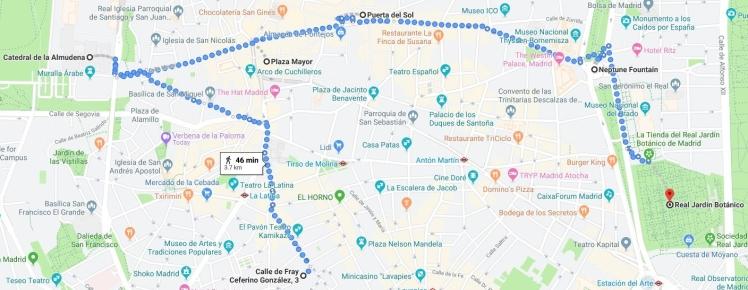 Madrid Route